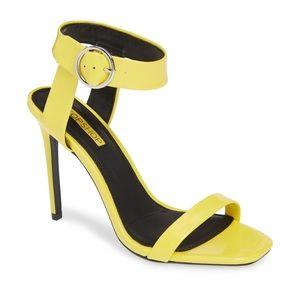 TOPSHOP Yellow Heeled Sandal